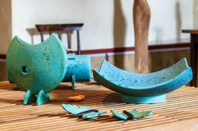 verschiedene Keramikgefäße