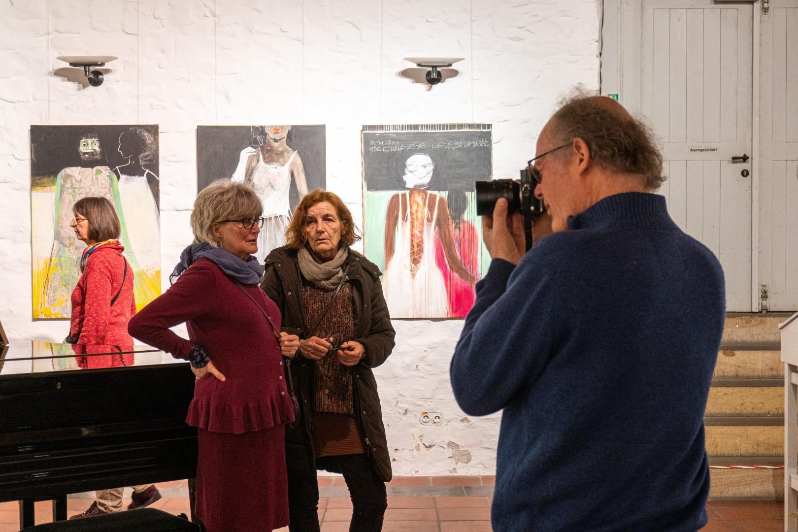 "Vernissage: Andrea Wilmers - ""Zwischenräume"" | 14.02.2020"